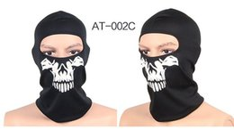 La couverture du crâne en Ligne-Crâne Multi Bandana Vélo Moto Écharpe Masque Complet Couverture Chapeau Protection CS masques Masque Halloween masque de moto AT8724