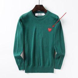 Love Pattern Designer Mens Sweater Lana O cuello Otoño Famoso Pla Pattern Moda Sudadera M-2XL 5 colores desde fabricantes