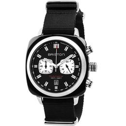 26e9f0669f4 AAA Top Marca Briston clubmaster cronógrafo Mens Relógios de Luxo Militar  Assista Exército Tático Nato Strap Relógios para Homens Relogio masculino