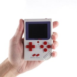Wholesale handheld games - CoolBaby RS-6 Portable Retro Mini Handheld Game Console 8 bit Color LCD Game Player For FC Game