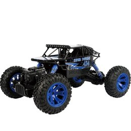 Wholesale Cars 18 - Remote Control Car 1:18 Alloy Climb Automobile Children Kid Toy Gift Off Road Vehicle Model Cars 2.4G Four Wheel Drive 58bn V