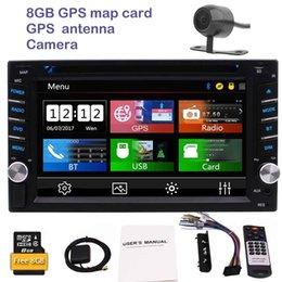 Wholesale Mp4 Colors - Rearview camera car dvd player 2din autoradio 6.2'' gps car radio pc in dash mainunit colors button backlight types UI Bluetooth USB