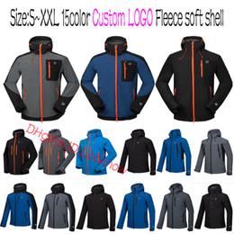 Großhandel Marken TOP Qualität Outdoor Shell Jacke Winter Marke Wandern Softshell Jacke Männer Winddicht Wasserdicht Thermische Für Wandern Camping von Fabrikanten
