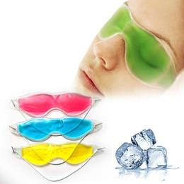 2019 nez gras Hotsale- Femmes Essential Beauty lunettes de glace enlever les cernes sombres soulager les yeux Fatigue masque pour les yeux Gel Masques collagène masque pour les yeux patch livraison shipp
