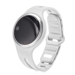 Wholesale white rubber wristband - E07 Smart Watch IP67 Wrist Watches Women Men Smart Wristband for iphone Android IOS Phone Sport Fitness Wrist Watches