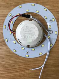 Panel circular led 12w online-PROMOCIÓN 5W 12W 15W 18W 23W SMD 5730 Lámpara de luz magnética circular de techo AC85-265V AC220V Anillo redondo Panel LED con imán MYY
