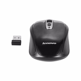 Wholesale Good Quality Laptops - Original Lenovo 2.4G Wireless USB mouse N110 800 1200 1600DPI for Desktop and Laptop Good choices for office work High quality
