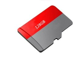 Wholesale Photo Adapter - High quality 32GB 64GB 128GB 256GB Red Generic Memory Card TF C10 Card Cards Free Adapter Red Retail Package Photo DHL