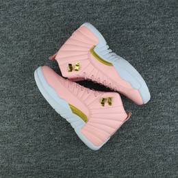 Canada 2018 Filles Taxi Taxi Baskets Drop expédition femmes 12 GS Hyper Jeunes Rose Valentines Day 12 s Prune Fog Fluo Jeux casual chaussures taille 5.5-8.5 cheap shoes woman plum Offre
