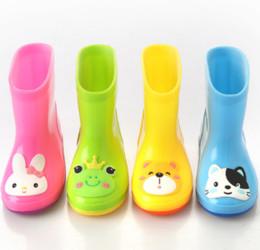 Wholesale Pvc Wellies - 14cm-19cm High Quality brand children rainboot kids rubber rain boot Shoes waterproof wellies water shoes boots child short rainboots