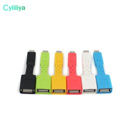 Wholesale Pc Keyboard Types - Micro USB OTG Type-C UCB OTG Micro Type-C Adapter For Cell Phone Table PC Connect to U Flash Mouse Keyboard