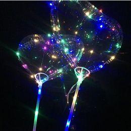 Aşk LED Balon Aydınlatma Şeffaf Bobo Topu Aşk Kalp Şeklinde Çizgi Dize Balon Sopa Ile Düğün Doğum Günü Partisi Dekor CCA8852 100 adet nereden