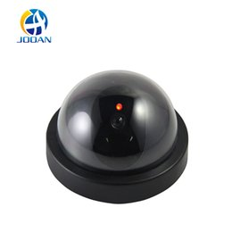 Wholesale Fake Outdoor Security Camera - JOOAN indoor outdoor Surveillance Dummy Ir Led Wireless Fake dome camera home CCTV Security Camera Simulated video Surveillance