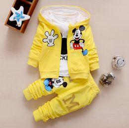 Горячий источник с длинными рукавами из трех частей костюм для мальчиков и девочек в возрасте 0-3 лет можно открыть брюки от