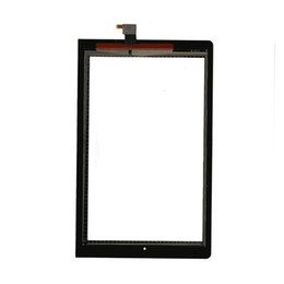 Wholesale tablet replacement screen lenovo - Wholesale- Touch Screen Sensor Glass Digitizer Panel For Lenovo Yoga 10 B8000 B8000-H Model 60047 Tablet Replacement 100% Test