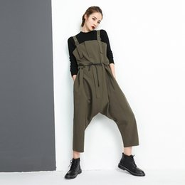 5d640482297 jumpsuits suspenders Canada - Women  039 s Jumpsuits Female Series 2018 New  Spring Fashion