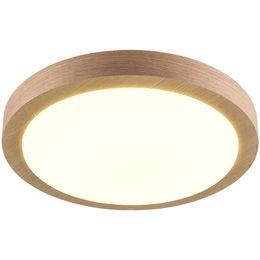 Wholesale lamparas techo led - Modern lamp LED Wood Ceiling Lights Round Shape lamparas de techo For Bedroom Balcony Corridor Kitchen Ceiling Lighting 082