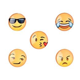 Wholesale sticker funny faces - 5pcs Fridge Magnets Funny Face Decor Smile Face Sticker Creative Home Kitchen Decoration Fridge Magnets
