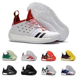 Avec la Box James Harden Vol.2 Chaussures de Basketball Pour Hommes Mode Noir Blanc Rouge Vert Orange Bleu Gris Marron Vin Sport Baskets ? partir de fabricateur