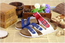 Wholesale Wholesale High Heel Slippers - Color High Quality Slate Sandals Outdoor Sandals New Summer Couple Flat Slippers Sandals Anti-skid Flats Free Shipping