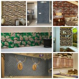 Canada Papier peint mural auto-adhésif en PVC Brique Papier peint en vinyle imitation pierre, pierre de roche, 3D Papiers peints autocollants et imperméables supplier imitation brick Offre