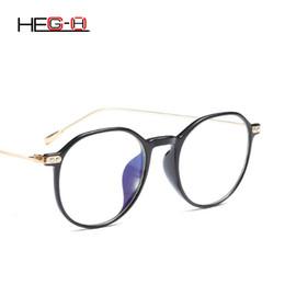 HEG-H Lady gafas redondas marco Retro Art hombres gafas mujeres gafas  aleación de alta calidad gafas finas pierna diseñador de la marca H037  Ofertas de h ... 0ac5822b37a2