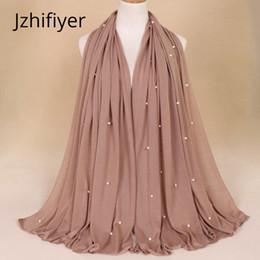 2019 arabischer schal hijab single jersey schal polyester muslim hijab kopfbedeckung bandana mujer perle plain stahl arab frauen umhang 180g 21 farben bufanda günstig arabischer schal hijab