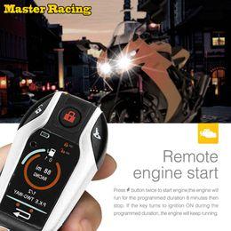 2211a4df 2019 alarma de vibración del coche Alarma de la motocicleta de arranque a  control remoto del