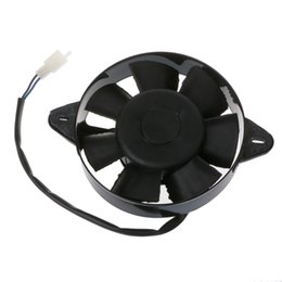 Moteurs chinois en Ligne-Ventilateur de refroidissement de radiateur électrique pour les chinois 200cc 250cc ATV Quad aller Kart Buggy UTV motos moteur ventilateurs