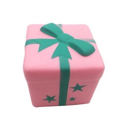 Wholesale Big Cake Boxes - Jumbo Kawaii Lovely Squishy Gift Box Toy Slow Rising Phone Bag Straps Charm PU Soft Squeeze Scented Bread Cake Kids Fun Toy