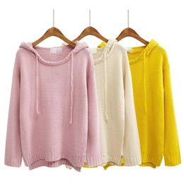 3e55ccbfe0 Wholesale-retro women sweaters and pullovers cute harajuku style 2016 korean  coats new kawaii autumn winter pink oversized sweater women
