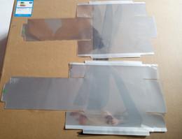 30 unids / lote envolver plástico sello película para el paquete de la caja para iphone 7 7g 7p 7+ 8G 8 8p 8+ más X XS MAX XR embalajes de la membrana del sobre pegatinas desde fabricantes