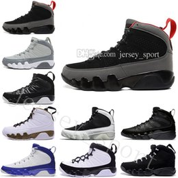 more photos a7655 75d12 Cheap NEW 9 men basketball shoes OG space Jam cool grey Anthracite Barons  The Spirit doernbecher 2010 release Tour blue PE sports Sneakers
