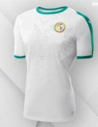 Wholesale Home Wearing - free shipping Senegal World Cup Soccer Jersey 2018 Home white 10 MANE 2019 football shiirts camiseta de fUtbol 18 19 Football wear Jerseys
