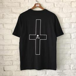 New Mastermind Japan MMJ Cross Printed camiseta mujer hombre Hip Hop Streetwear manga corta camiseta de algodón Skateboard Top desde fabricantes