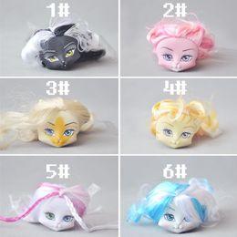 Wholesale Bulk Plastic Toys - Monste High cat Figure Doll head cat girl doll head change makeup DIY bulk accessories Christmas birthday gift toys