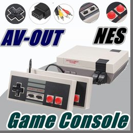 Wholesale Av Console - DHL Sale Mini TV RCA Video AV-OUT Game Console Handheld for NES Games with retail box A-JY