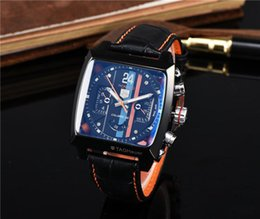 Wholesale Classic Swiss Watch - Swiss luxury brand TAG men's Mechanical watch fashion Sports high quality men's Watches clock watch Relogio classic AAA Wristwatches