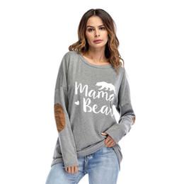 Alta calidad de la camiseta de las mujeres manga larga impresa Celebrity camisetas Tops Tees Lady Girl ropa femenina 2018 Nuevo desde fabricantes