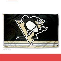 2019 ледяные флаги Индивидуальные хоккей Питтсбург Пингвинз флаг Кубок Стэнли Чемпионов флаги полиэстер хоккеи футбольные баннеры 18sf gg дешево ледяные флаги