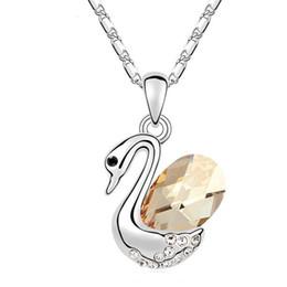 Melhor bijoux on-line-100% Original Cristais de Swarovski Elements Colares Pingentes Vintage Bijoux Para As Mulheres Melhor Presente 10952