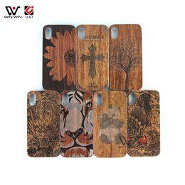 Paquete gratuito Caja de madera para teléfono celular de sublimación de bricolaje de bricolaje para iPhone 7plus 8plus 7 8 plus, caja de teléfono de regalo para teléfono desde fabricantes
