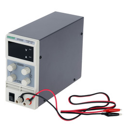 Wholesale Power Supply Adjustable 5a - Freeshipping 0-30V 5A Mini DC Power Supply Practical Switching Power Supply LED Display Digits Variable Adjustable AC 110V 220V 50 60Hz
