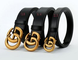 Wholesale Wear Ring - New fashion business men's wear with deluxe ring smooth buckle for men's leather belt free deliver