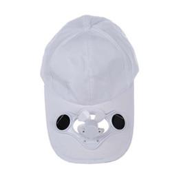Cycling Bike headband Cap Summer Outdoor Solar Sun Power Hat Cap Cooling  Cool Fan For Golf Baseball Sport Gorra Ciclismo 6a4273633988