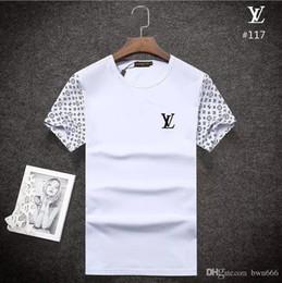 2019 rosas a granel 2018 verano diseñador camisetas para hombres Tops POLO blous carta bordado camiseta hombres ropa marca manga corta BOSS camiseta B117123456