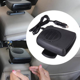Wholesale 12v Defroster Fan - 150W 12V Car Parking Heater Electric Heating Cooling 2 in 1 Fan Portable Auto Dryer Heated Windshield Defroster