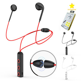 Wholesale Mobile Ear - BT313 Bluetooth Sport Earphones Wireless Headset Magnetic Waterproof 4.1 Stereo Earbuds with Mic for all Mobile Phone with Retail Package