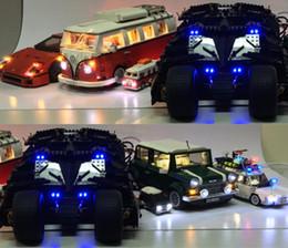 metallguss Rabatt LED-Licht Kit (nur Licht) für Lepin / Decool Schöpfer Technik Auto 10220/10242/42056/10252/10194/76023