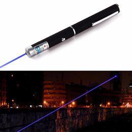 Canada Puissant stylo pointeur laser 2 couleurs rouge / bleu violet présentateur d'enseignement faisceau de lumière de faisceau haute puissance dispositif de visée laser Offre